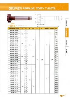 右斜刃T型刀 85