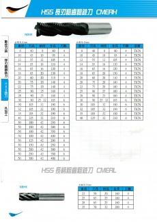 HSS長刃粗銑刀 120
